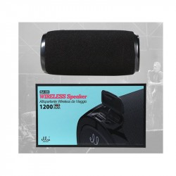 Ellietech BTS Cassa Bluetooth Portatile da Viaggio 8W*2 Nero BA109