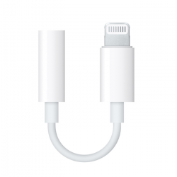 Apple Adattatore da Lightning a Jack Cuffie 3.5mm Bianco MMX62ZMA
