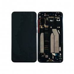 Display Lcd + Touchscreen Display completo con Frame per Xiaomi Mi 9 SE Nero