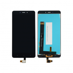 Display Lcd + Touchscreen Display completo senza Frame per Xiaomi Redmi Note 4 Nero